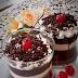Cara Membuat Black Forest Pudding