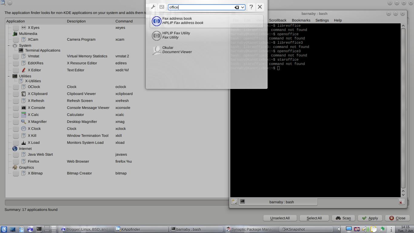 Linux, BSD, and everything else   : Kanotix 2011-05