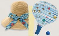 Logo Racchettoni e cappello di paglia in omaggio con Thun