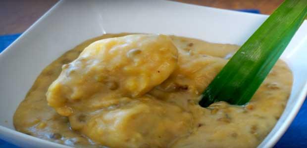 aneka olahan durian bubur kacang ijo duren