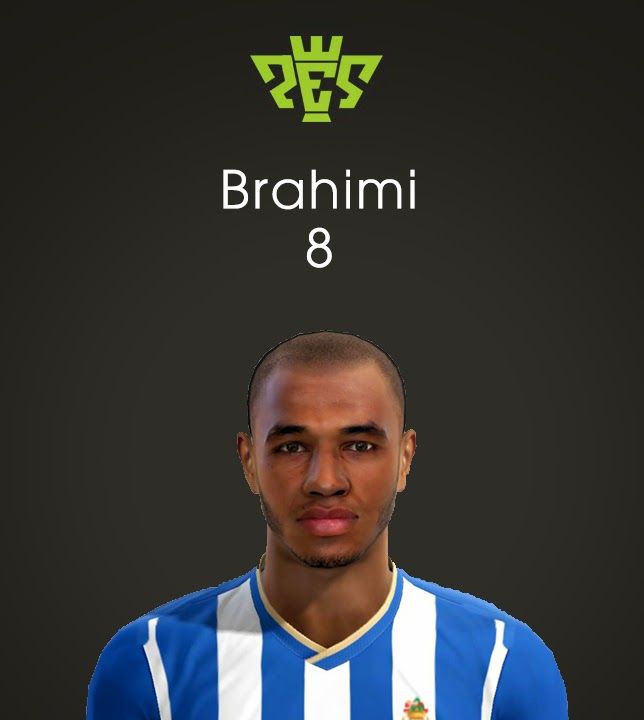 Pes 2013 Brahimi Face Porto New Player Coming From