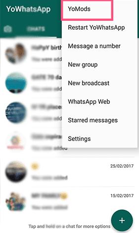 Cara Menperbarui YoWhatsApp Versi Terbaru di Android 6
