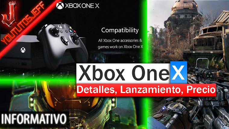 Xbox One X - Detalles, Fecha de Lanzamiento, Precio