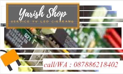 Biaya Service TV LCD LED di Bekasi