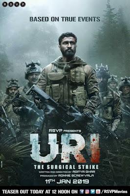 Bollywood new movie uri 2019