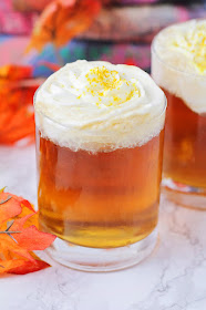 This bubbly and sweet homemade butterbeer is so easy to make, and so delicious!