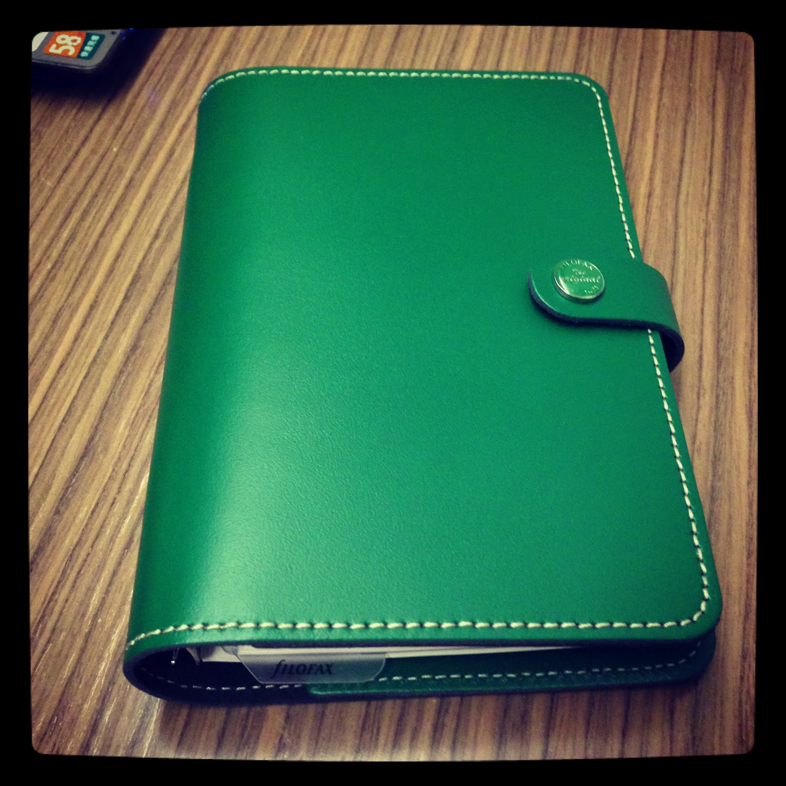 My Armour My Filofax Original Standard Green