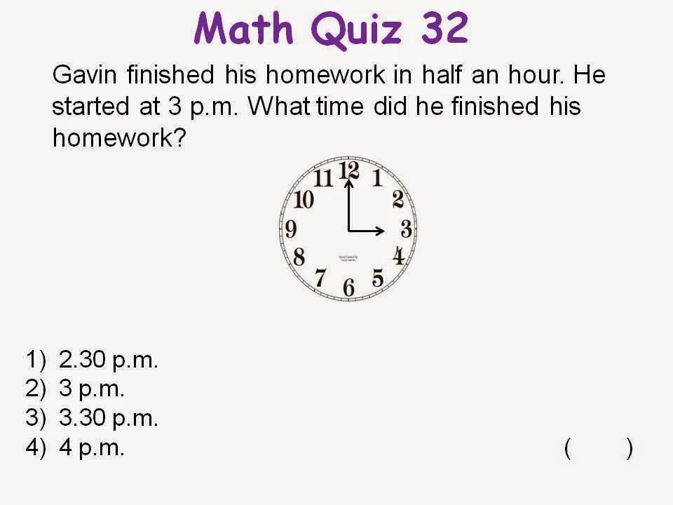 BGPS P2-6 2014: Math Quiz 32