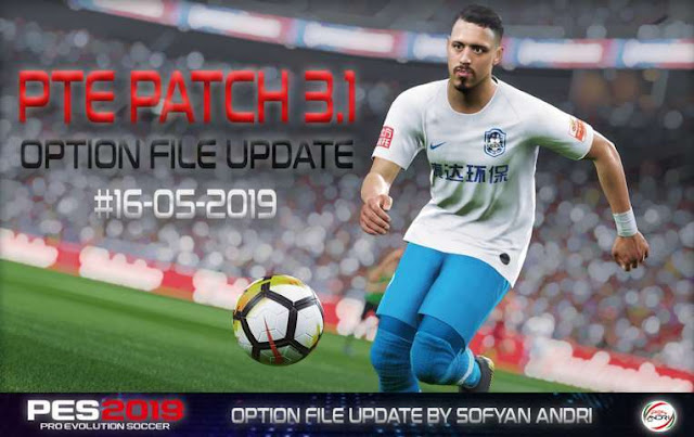Option File Update For PTE Patch V3 1 - PES 2019 - PES Patches