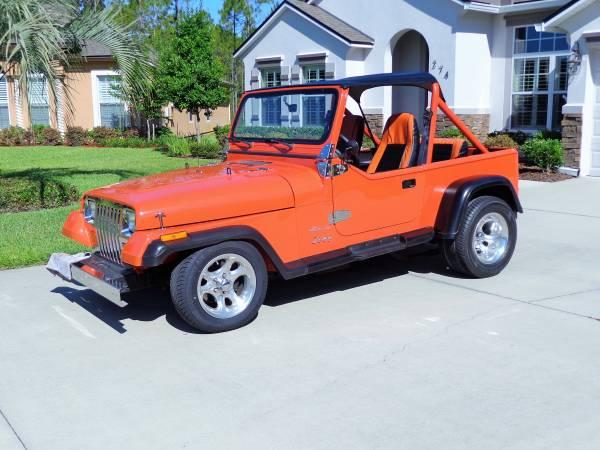 Daily Turismo: Pumpkin Spiced:1989 Jeep Wrangler Custom
