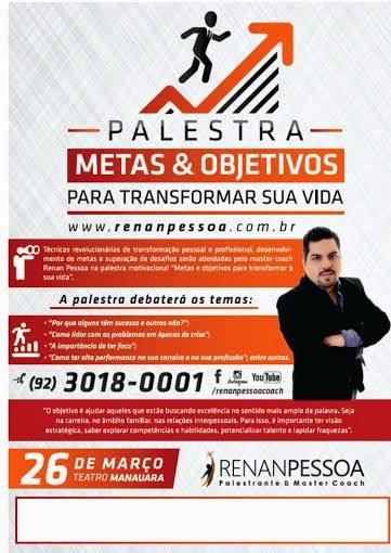Circulando Manaus Master Coach Renan Pessoa Ministra