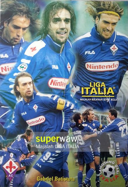 Big Poster Gabriel Batistuta Fiorentina 1998