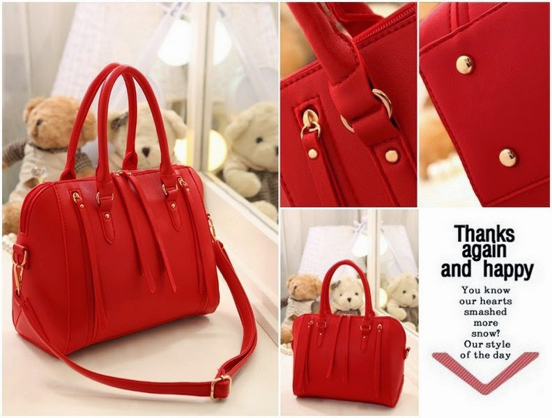 VCA1884 Colour Red Material PU Size L 28.5 W 15 H 22.5 Weight 0.7 Price Rp  190 17e91401c5