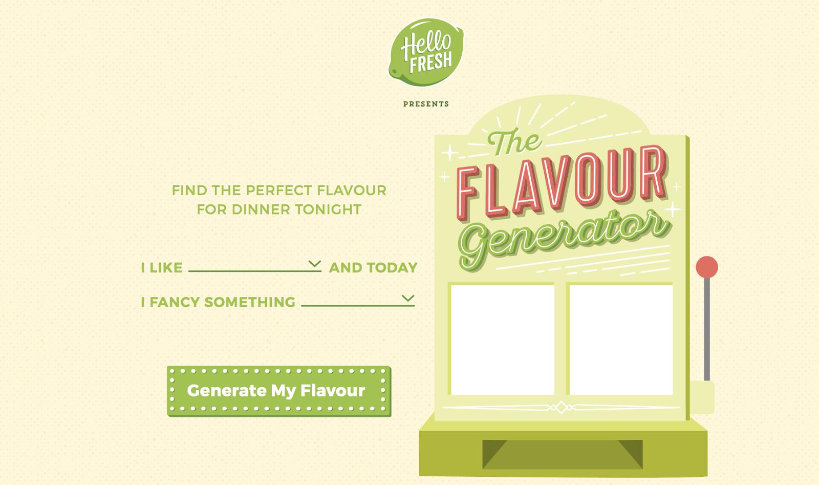 flavour generator