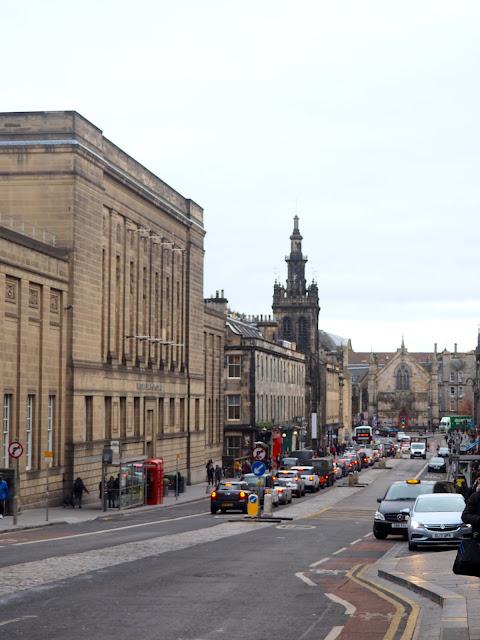 George IV Bridge, intersection with Royal Mile, Edinburgh