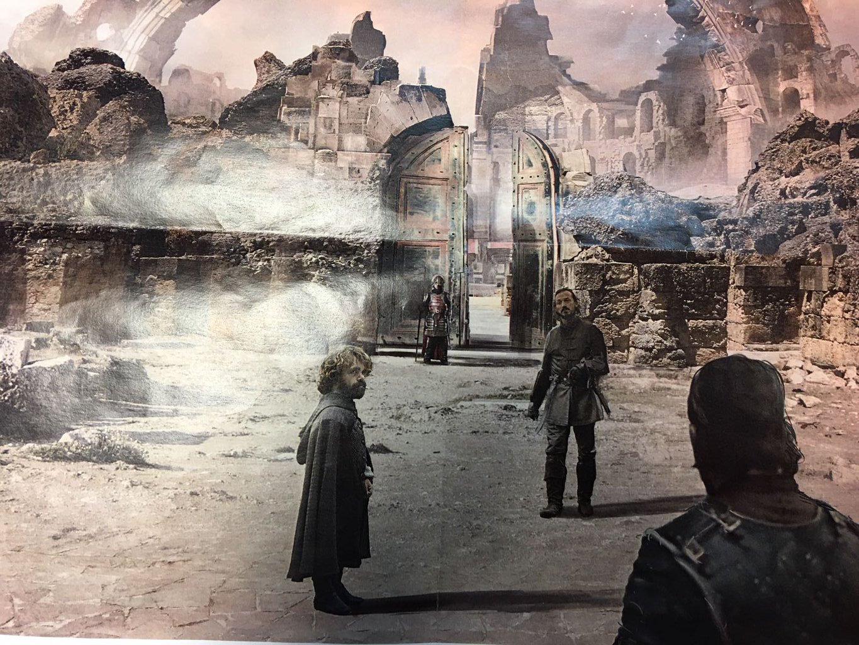 Game of Thrones concept art season 7