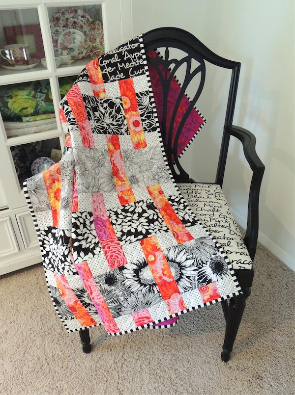 Interweave quilt pattern, Kaffe Fassett