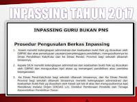 Berkas dan Lampiran Inpassing Non PNS Tahun 2017