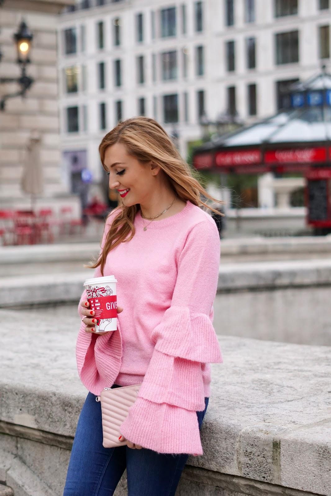 roter-lippenstift-NA-KD-Rosa-pullover-volant-ärmel-pullover-in-rosa-kombinieren-wie-kombiniere-ich-einen-rosa-pullover-blogger-aus-deutschland-fashionstylebyjohanna-frankfurt-blogger-blogger-aus-Frankfurt