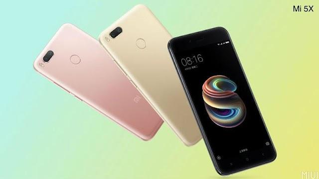 Specifications of Xiaomi Mi 5x Smart Phone