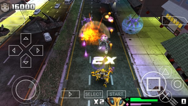 Download Transfomers Revenge Of The Fallen ISO PPSSPP