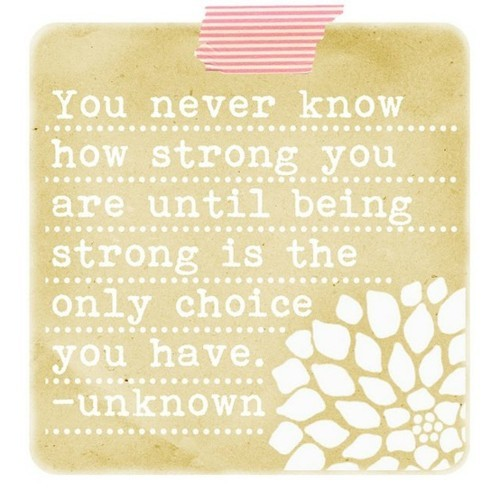 Quotes About Being Strong: The Lovelee Girl: Strong Enough