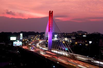 Jembatan Pasupati, Kota Bandung