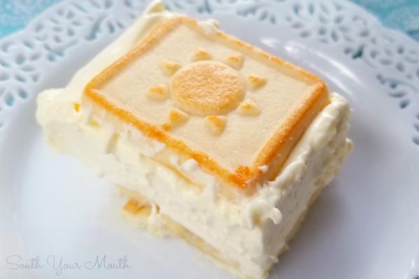 Italian Cake Made With Vanilla Wafers
