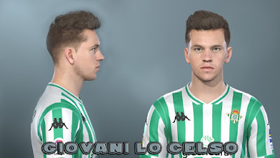 PES 2019 Faces Giovani Lo Celso by Prince Hamiz