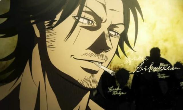 Yami Sukehiro - Daftar Nama Anggota Black Bull dalam Anime Black Clover