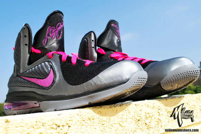 """a3ddb4563341 THE SNEAKER ADDICT  Nike LeBron 9 """"Miami Nights"""" Sneaker (Detailed ..."""