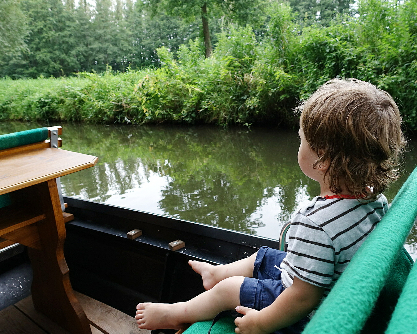 Mit Kindern im Spreewald Kahn fahren | judetta.de