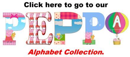 Peppa Pig Alphabets