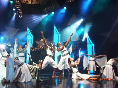 Apresentações Coreografadas no Ministério de Dança