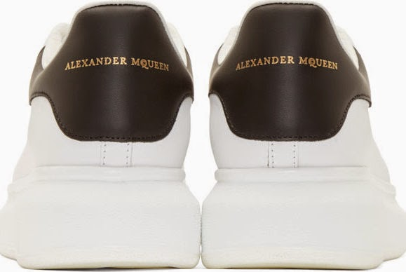 White Heights: Alexander McQueen Leather Big Sole Sneakers ...