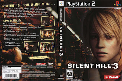 Jogo Silent Hill 3 PS2 DVD Capa