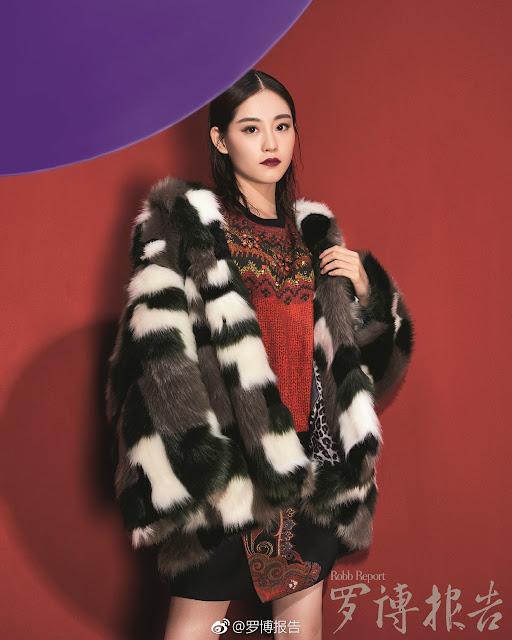 Bambi Zhu Xu Dan photoshoot