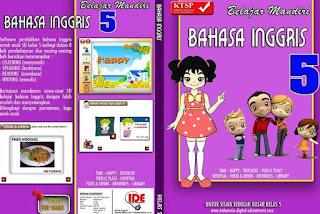 Software CD Pelajaran Bahasa Inggris SD Kelas 5