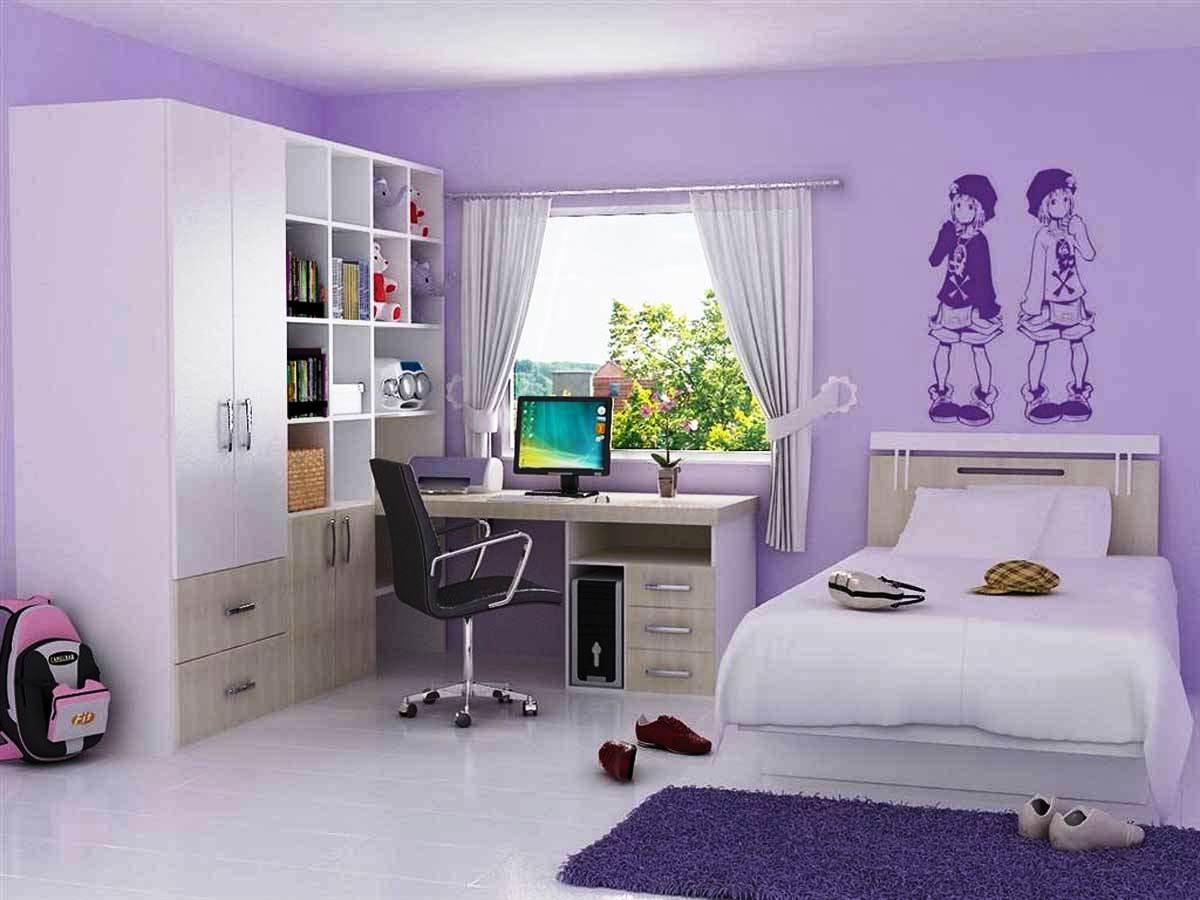 Desain Kamar Tidur Anak Perempuan Remaja