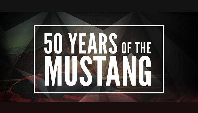 Image: 50 Years of the Ford Mustang