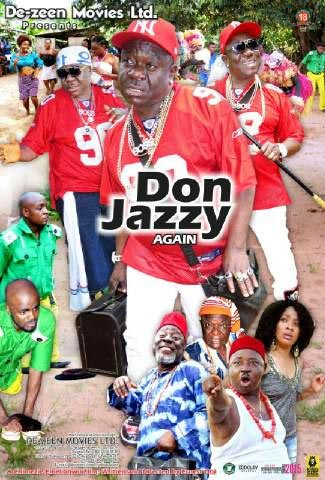 Check out the title of this Nollywood movie featuring Mr. Ibu as Don Jazzy
