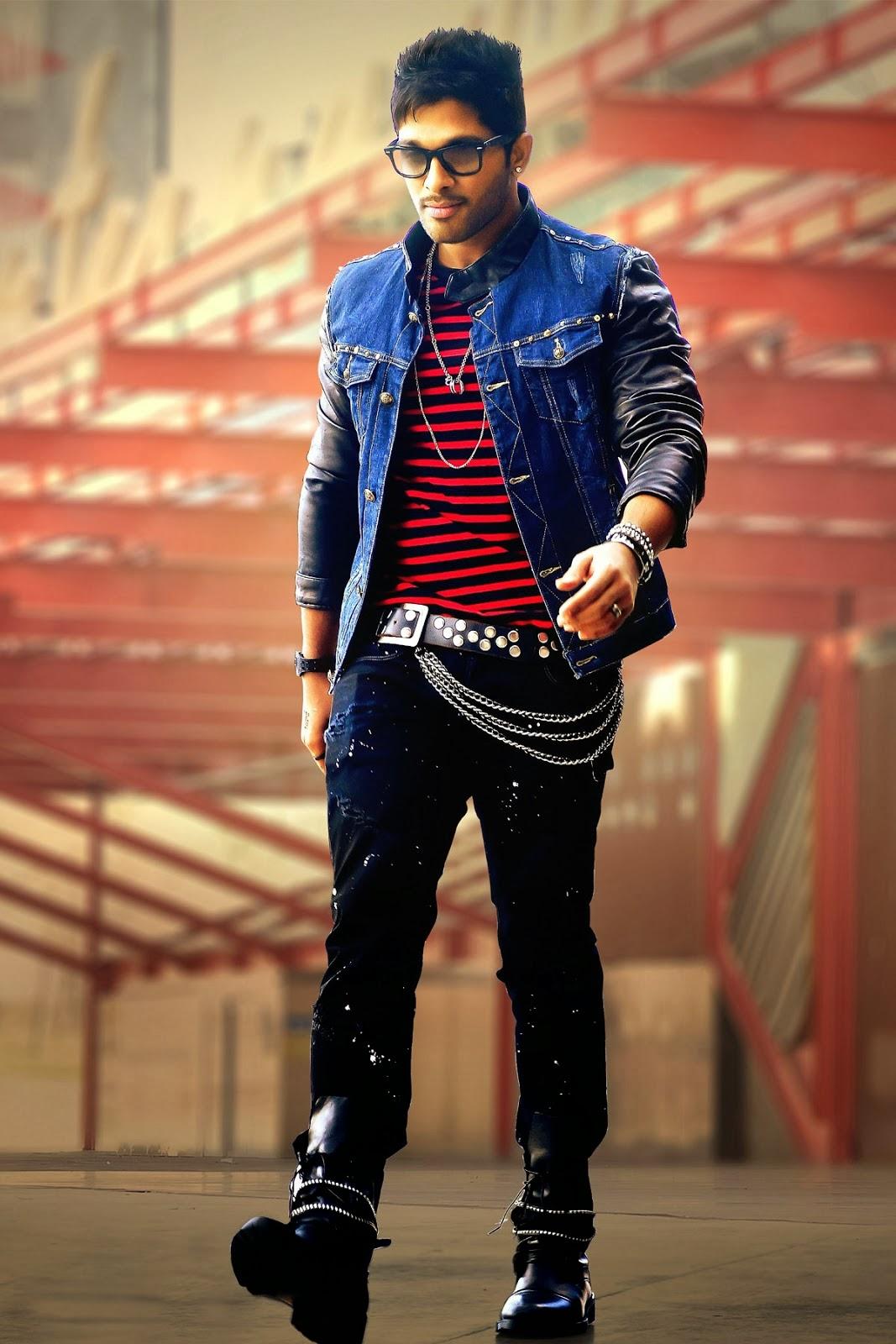 Allu Arjun Full Hd Wallpapers - Hot Photos In Saree-5238
