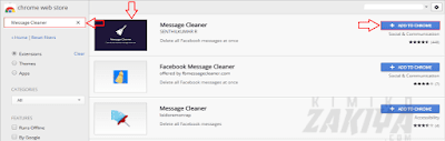 tambah Message Cleaner