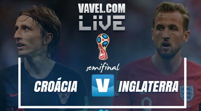 Assistir Jogo Croácia x Inglaterra Ao Vivo pela Copa da Rússia