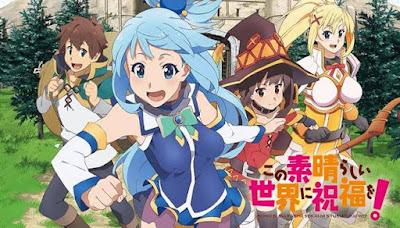 Download Kono Subarashii Sekai ni Shukufuku wo! S2 Subtitle Indonesia