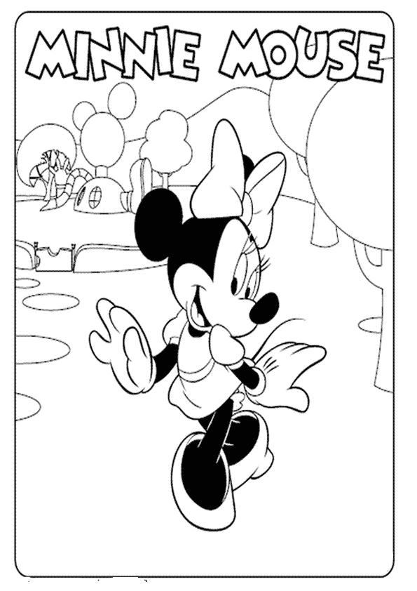Imagenes De La Casa De Mickey Mouse Para Colorear Imagenes