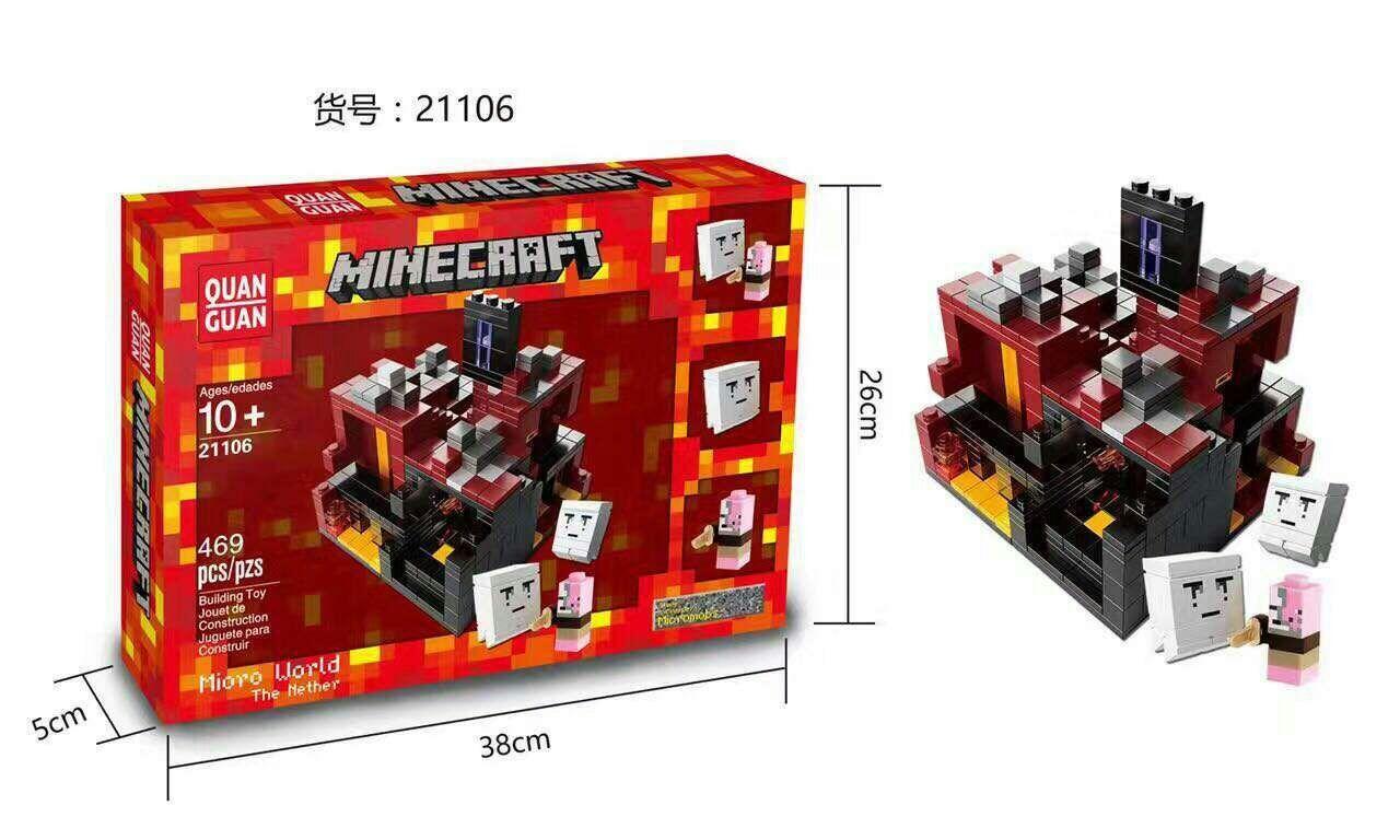 Downtheblocks Quan Guan 21102 21105 21107 Mini Minecraft Biomes