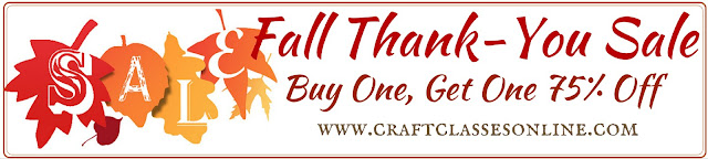 Fall Thank You Sale