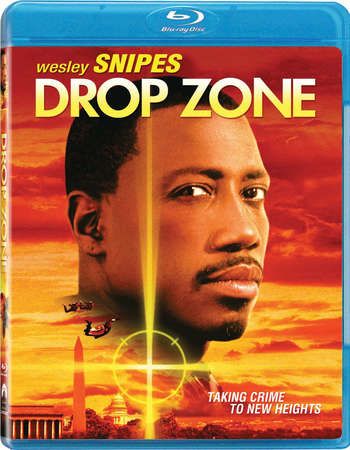 Poster Of Drop Zone 1994 Dual Audio 300MB BRRip 480p Free Download Watch Online