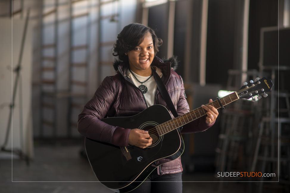 Musician Portrait Guitar Music - SudeepStudio.com Ann Arbor Senior Portrait Photographer